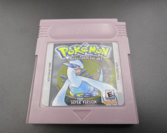 Nintendo GBA Gameboy Advance Pokemon Go SILVER VERSION  version  edition charizard Venusaur Blastoise card Save works! Free Shipping Color