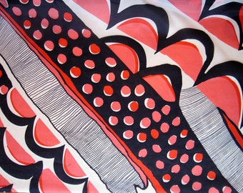 Silk Abstract Print Fabric By The Yard Free Shipping