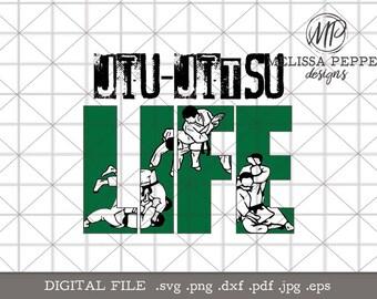 Jiu Jitsu Life svg,bjj svg  design file,jiu jitsu shirt design,jiu jitsu gi,mixed martial arts,mma svg,jiu jitsu gym bag,bjj cut file