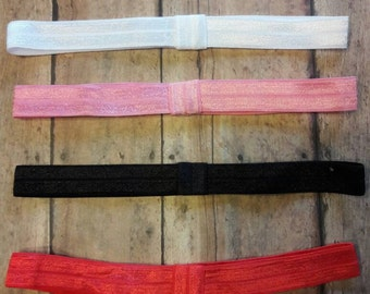 Elastic Headbands set of 4.