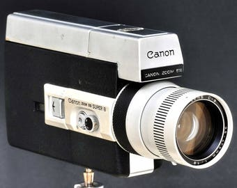 Canon Super-8 Zoom 518 S8mm Movie Camera w 9.5-47.5 f/1.8 Lens MiNTY !