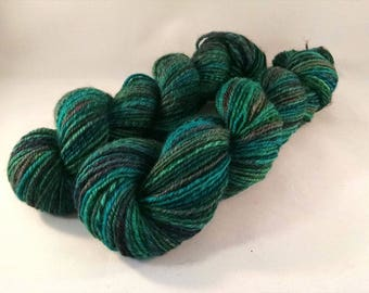 Handspun yarn - Sport weight   (#642)