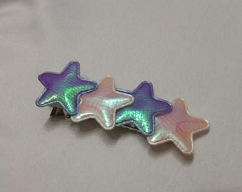 Shiny Baby Stars pastel hairclip