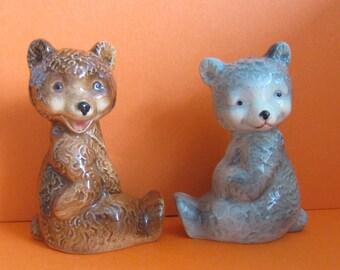 1950 s Goebel Bears Salt and Pepper Set