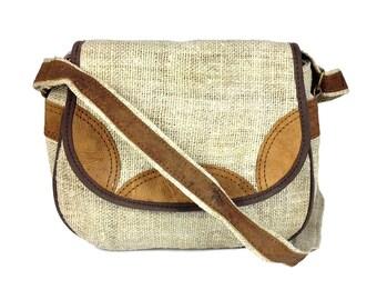 Hemp Purse. Handmade Hippie Purse. Natural, Great Bohemian purse. Hobo bag. Naturalist Hemp bag