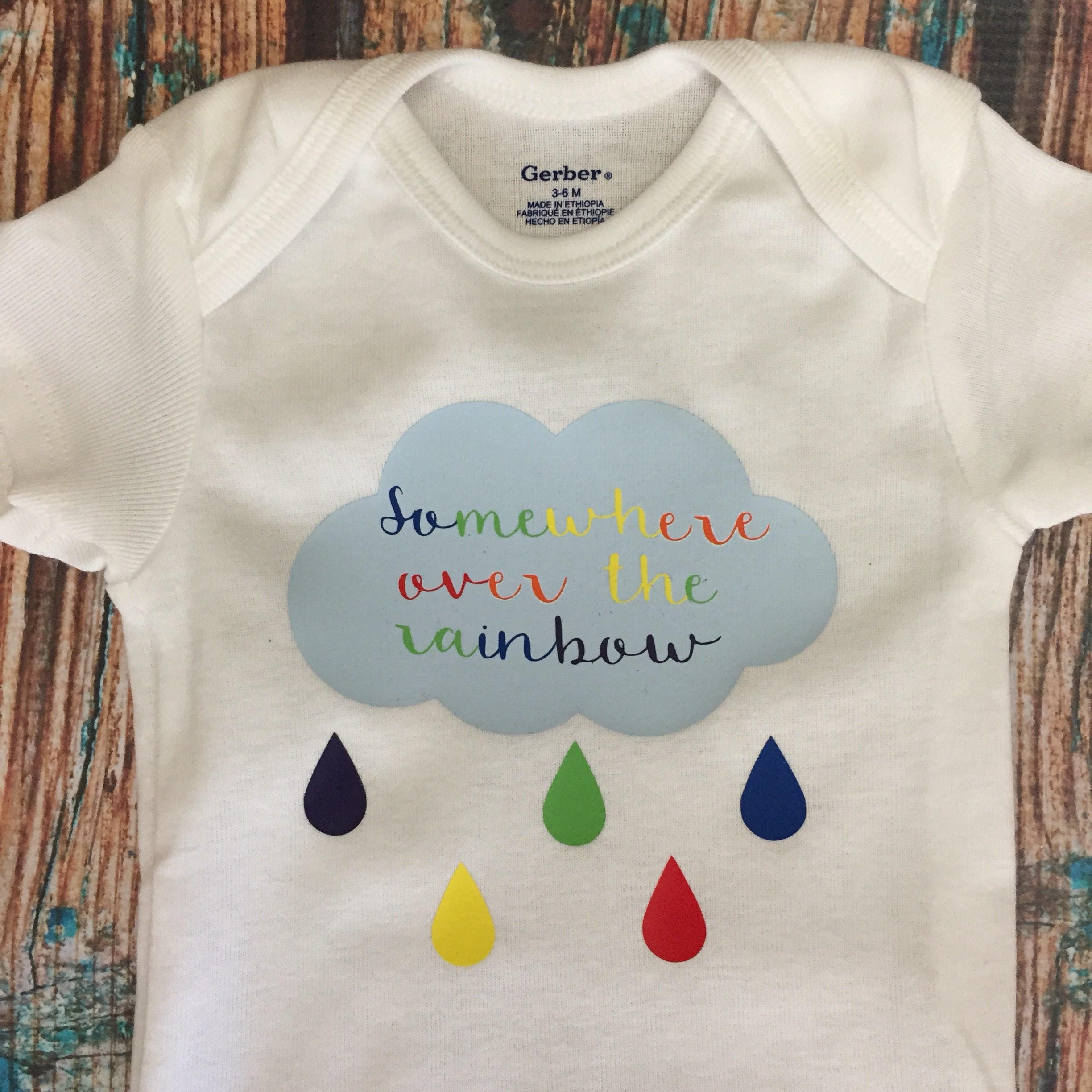 Rainbow Baby | Baby Bodysuit | Baby Clothes | Baby Shower Gift | Unisex Baby  Gift