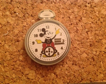 Mickey Mouse Ingersoll Watch Face Pin Disneyland
