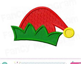 Santas ELF applique,Santas ELF design,Santas ELF,Christmas design,Santas embroidery,Christmas applique,Christmas embroidery.-17R