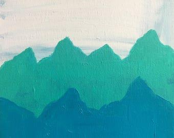 Mountain Mini in Blue