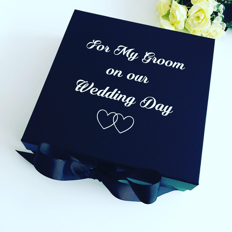 Wedding Gift For My Groom: Groom Box Groom Gift Box Wedding Gift Box For Groom Husband