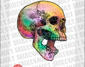 Colorful Skull - By Batle...