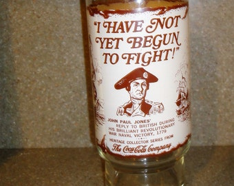 """Vintage """"I Have Not Yet Begun To Fight"""" By Coca Cola/Hertiage Collection"""