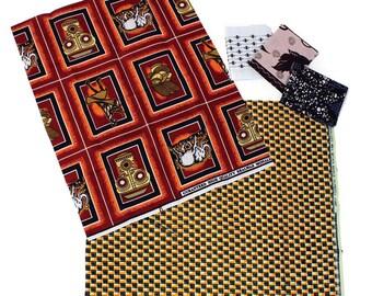 Fat Quarter Yard Fabric 5 Pack