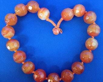 1960s Carnelian Necklace