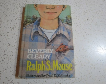 Ralph S. Mouse by Beverly Cleary (1982, Hardcover) Weekly Reader Edition