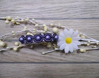 bracelet  / soutache technique / handmade (nr381)
