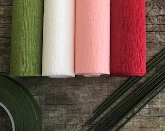 60g - DIY Italian Crepe Paper - Kit 2