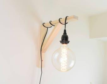 Hanging Lamp - Hanging Light Fixture - Wall Light Sconce - Wall Light Fixture - Pendant Light Fixture - Edison Lamp - Edison Bulb Lamp