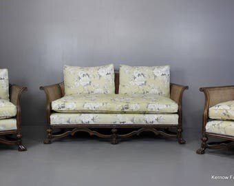 Early 20th Century Bergere Suite