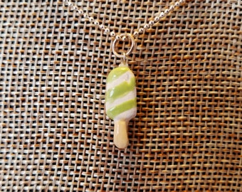 Popsicle Pendant Necklace