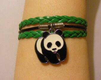 Panda bear bracelet, panda bear jewelry, panda bracelet, panda jewelry, bear bracelet, bear jewelry, fashion bracelet, fashion jewelry