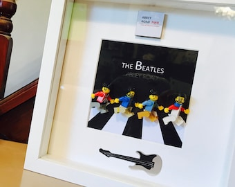 Beatles Gift - Lego Abbey Road Picture Frame Gift