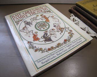 Vintage Children's Story Book - Kate Greenaway's Family Treasury