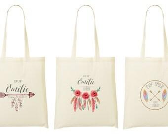 bag personalized bachelorette party - 3 designs