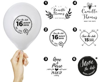 100 custom save the date + card