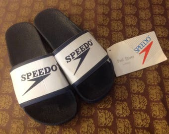Vintage Speedo Pool Shoes, Vintage Speedo, Vintage Shoes, Vintage Sandals, Vintage Flip Flops, Speedo