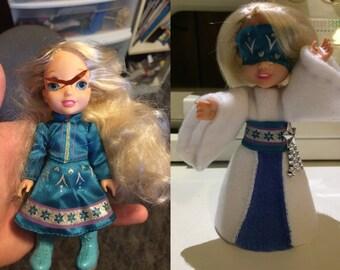 Customized Elsa Doll: Snow Queen Reborn