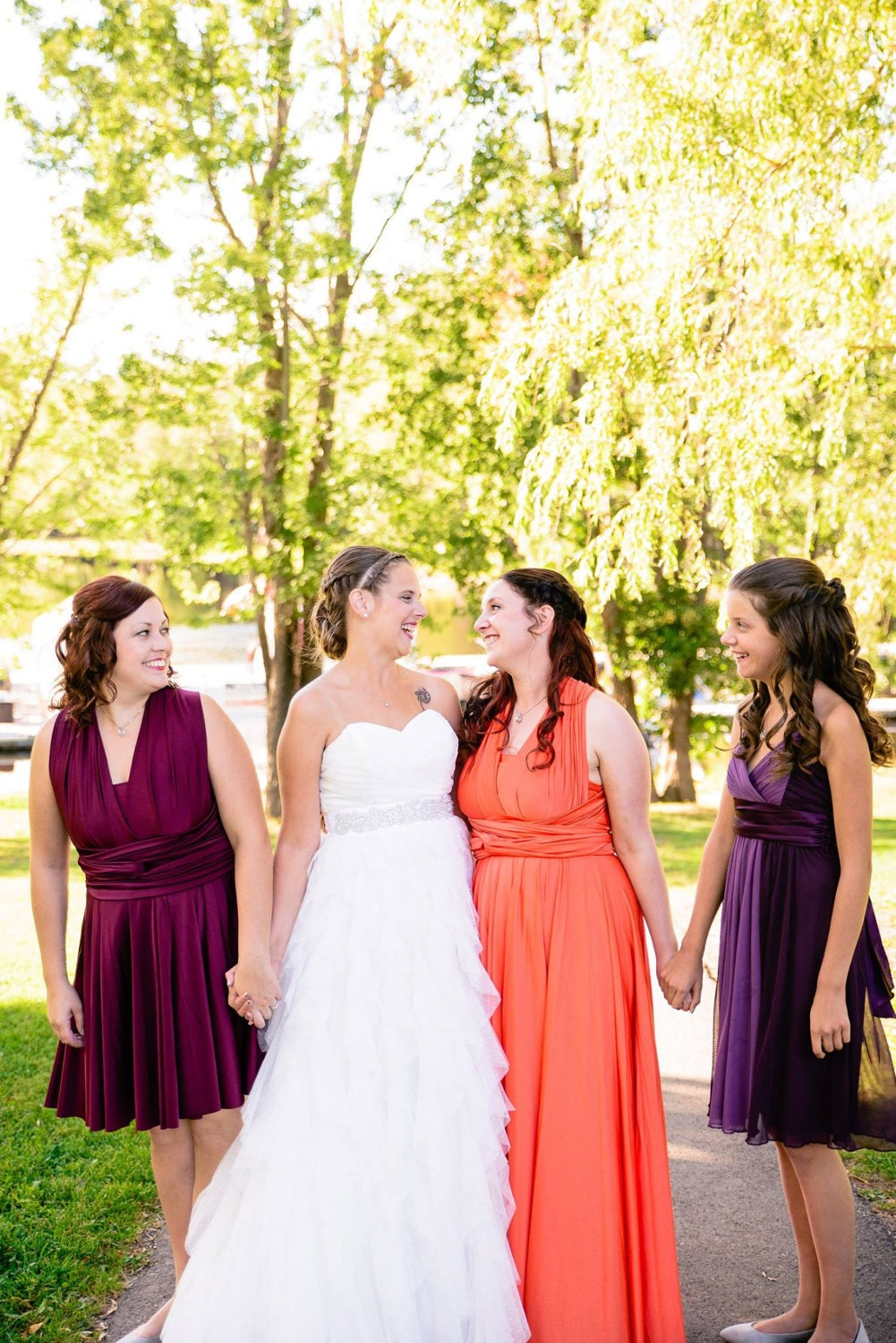 Tinas autumn wedding bridesmaid dresses bridal alterations by chavah designs ombrellifo Images