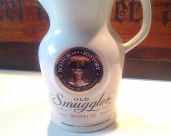 Jug, 'Old Smugglers'.