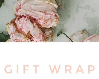 Add-on Gift Wrap My Order