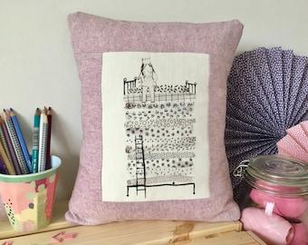 The princess and the pea cushion