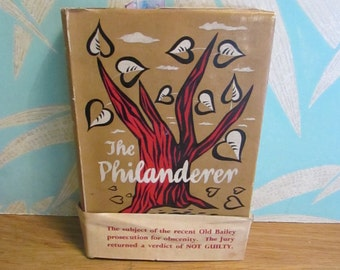 The Philanderer by Stanley Kauffmann, 1953 edition hardback