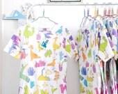 SECONDS SALE!*** Birds all-over print T-shirt, bird tshirt, cute tshirt, cactus tshirt, kawaii tshirt, ***Misprinted tee on sale!***