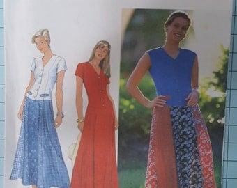 Simplicity 7593 Misses Dress Size 12-16
