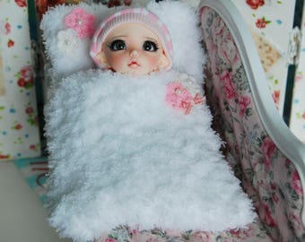BJD accessories for Pukifee Fairyland doll Sleeping bag