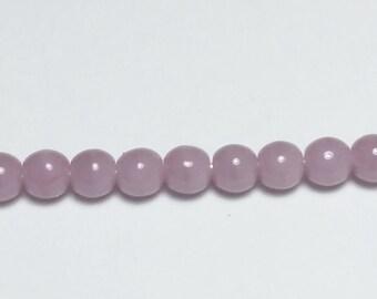 120pcs Opaque Purple Beads - 3mm Beads - Czech Glass Beads - Glass Beads - Jewelry Supplies - GB361