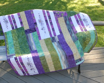 Embroidery and Pieced Quilt