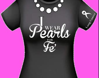 Pearls for Fe' T-shirt