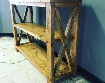 Entryway Table/Bookshelf