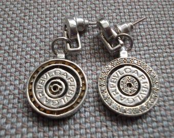 Bvlgari Silver Earings