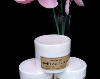 Strong Pure Kojic Acid Cream w/ Niacimide Strong Skin Lightening Bleaching SPF