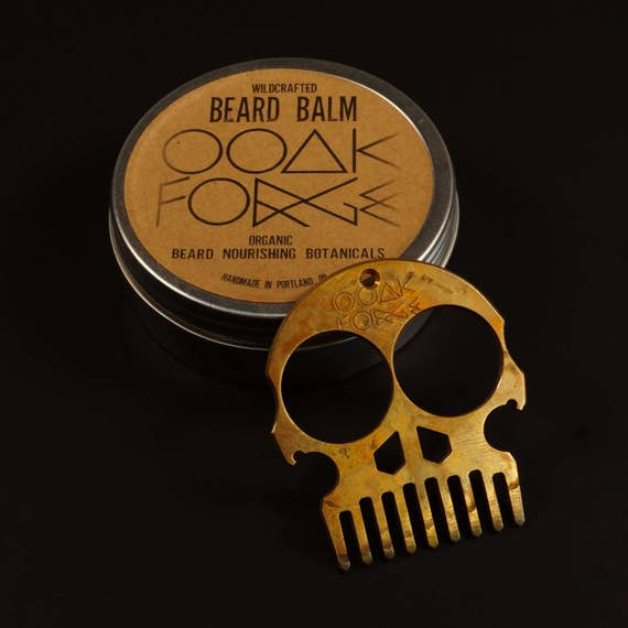 Beard Comb, Bronze Coarse / personal care, beard balm, beard oil, men