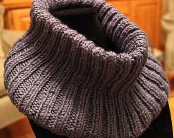 Hand Knit Cowl - Knit Cowl  - Scarf - Winter Cowl - Knitted Cowl - Cowl
