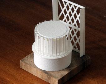 Rotunda - paper model