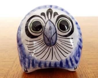 Small Mexico Tonala Pottery Owl