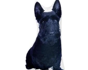 Scottish Dog, Scottie Dog, Scottish Terrier Pillow, Dog Lovers Gift,  Pet Owner Gift, Scotty Dog, Dog Plush, Pet Memorial, Dogs, I Love Dogs